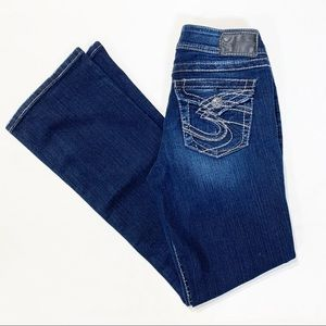 Silver Suki Bootcut Jeans Medium Wash Size 28